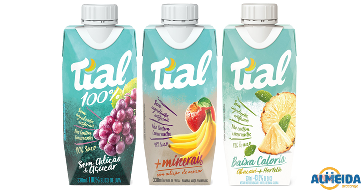 SUCO TIAL TP SABORES 330 ML